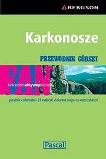 Okładka książki Karkonosze - przewodnik górski