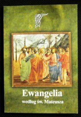 Okładka książki Ewangelia według św. Mateusza
