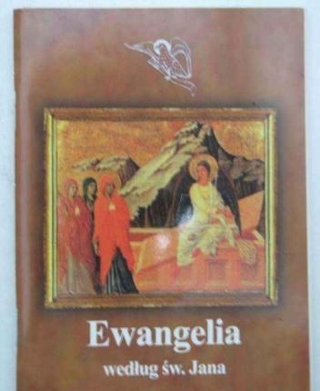 Okładka książki Ewangelia według św. Jana