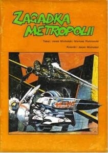 Okładka książki Zagadka metropolii