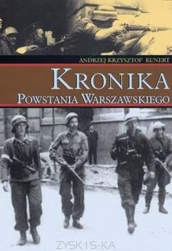Okładka książki Kronika Powstania Warszawskiego