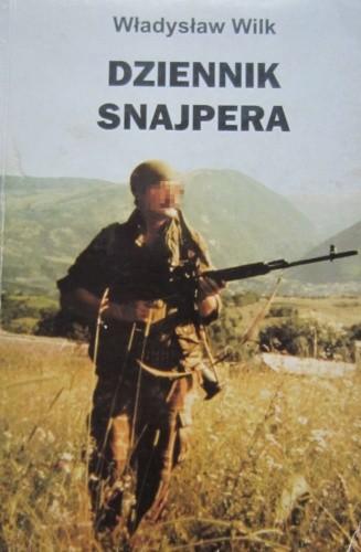 Okładka książki Dziennik snajpera