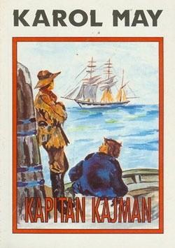 Okładka książki Kapitan Kajman