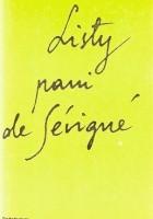 Listy pani de Sévigné