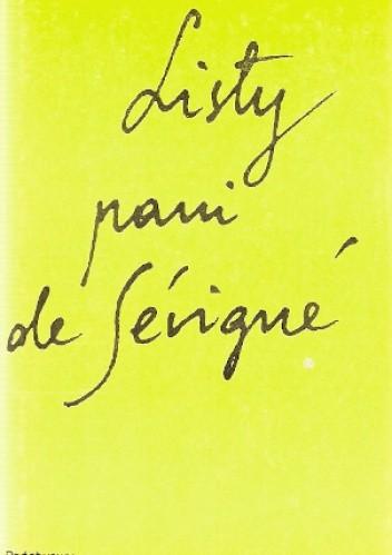 Okładka książki Listy pani de Sévigné