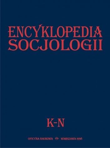 Okładka książki Encyklopedia Socjologii, t. 2