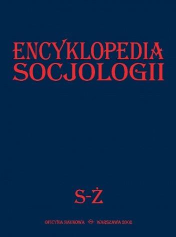 Okładka książki Encyklopedia Socjologii, t.4