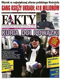 Okładka książki Fakty i Mity, nr 48 (665)/2012
