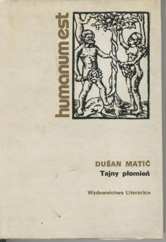 Okładka książki Tajny płomień