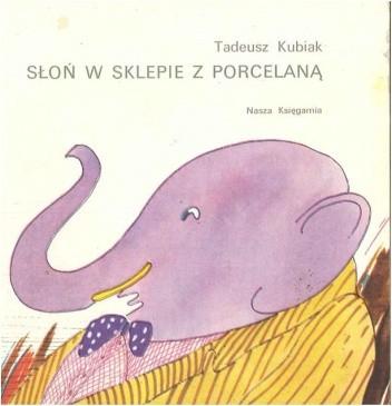 Okładka książki Słoń w sklepie z porcelaną
