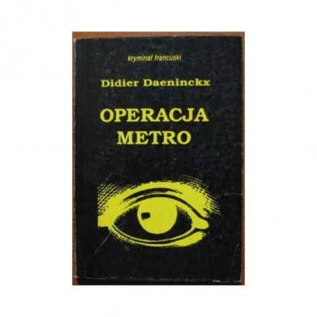 Okładka książki Operacja Metro
