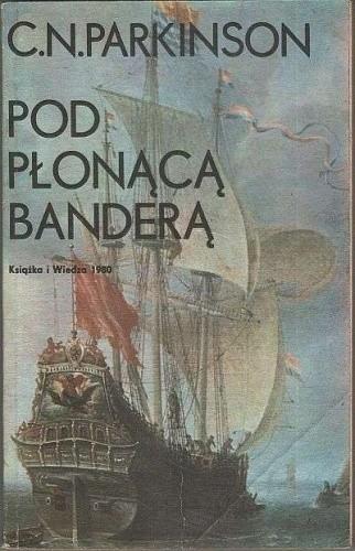 Okładka książki Pod płonącą banderą