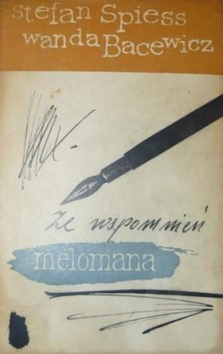 Okładka książki Ze wspomnień melomana