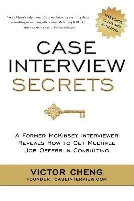 Okładka książki Case Interview Secrets