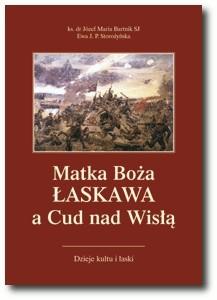 Okładka książki Matka Boża Łaskawa a Cud nad Wisłą