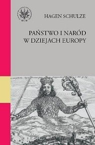 Okładka książki Państwo i naród w dziejach Europy