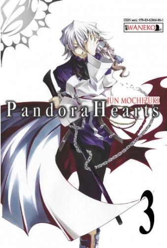 Okładka książki Pandora Hearts: tom 3