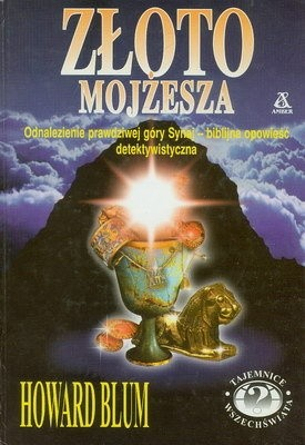 Okładka książki Złoto Mojżesza