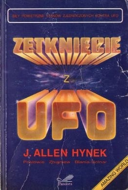 Okładka książki Zetknięcie z UFO