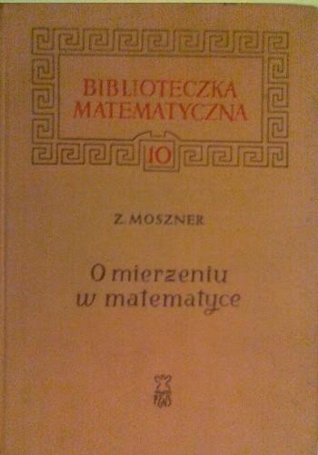 Okładka książki O mierzeniu w matematyce