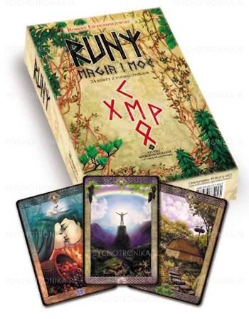 Okładka książki Runy, magia i moc