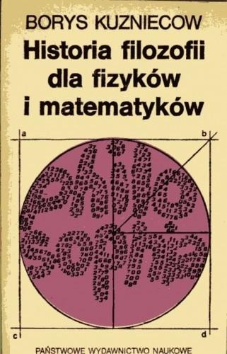 Okładka książki Historia filozofii dla fizyków i matematyków