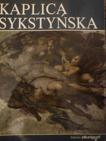 Okładka książki Kaplica Sykstyńska