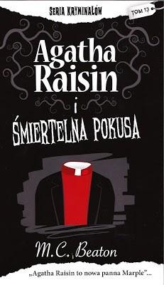 Okładka książki Agatha Raisin i śmiertelna pokusa
