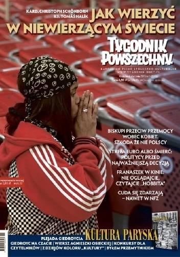 Okładka książki Tygodnik Powszechny, nr 1/2013
