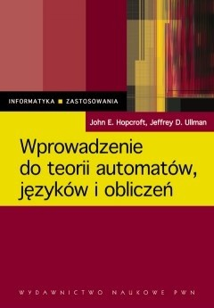 Okładka książki Wprowadzenie do teorii automatów, języków i obliczeń