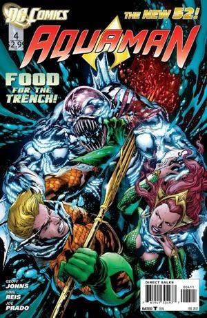 Okładka książki Aquaman Vol 7 #4