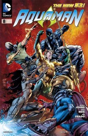 Okładka książki Aquaman Vol 7 #8