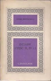 Okładka książki Dziady II, IV i I
