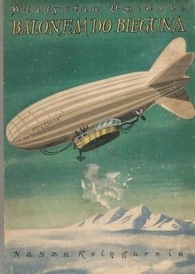 Okładka książki Balonem do bieguna