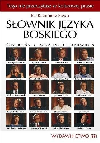 Okładka książki Słownik języka boskiego. Gwiazdy o ważnych sprawach