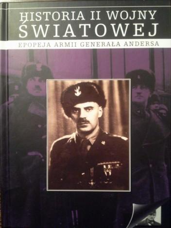 Okładka książki Epopeja armii Generała Andersa