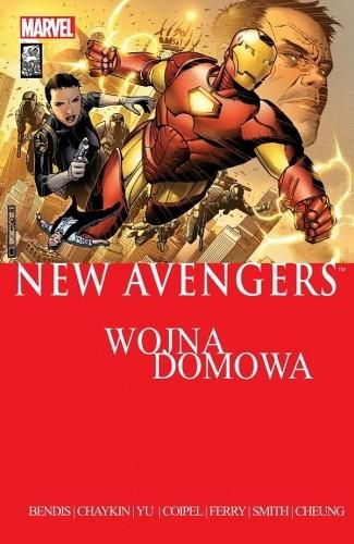 Okładka książki New Avengers: Wojna domowa