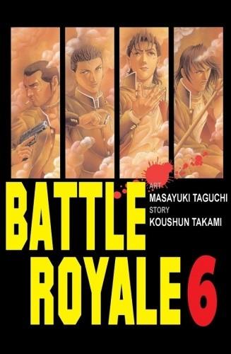 Okładka książki Battle Royale 6
