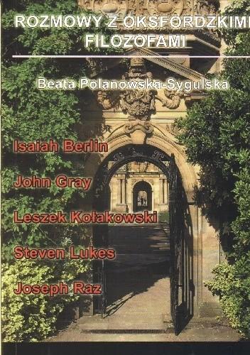 Okładka książki Rozmowy z oksfordzkimi filozofami