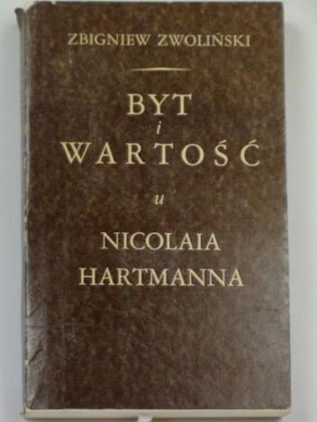 Okładka książki Byt i Wartość u Nicolaia Hartmanna