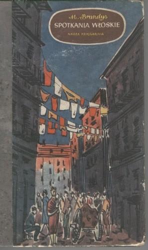 Okładka książki Spotkania włoskie