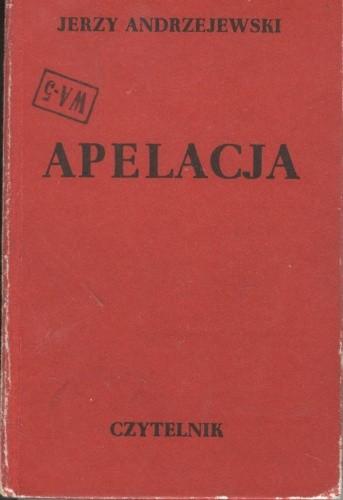 Okładka książki Apelacja