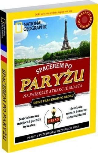 Okładka książki Spacerem po Paryżu