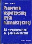 Okładka książki Panorama współczesnej myśli humanistycznej. Od strukturalizmu do postmodernizmu