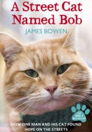 Okładka książki A street cat named Bob