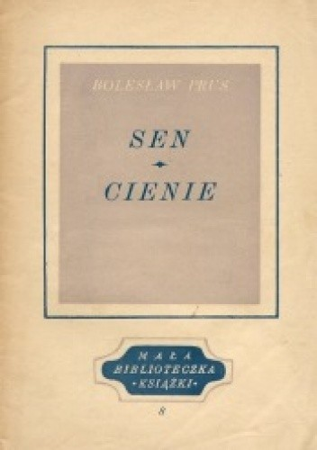 Okładka książki Sen. Cienie