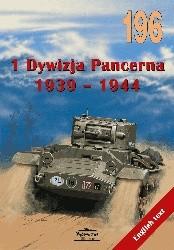 Okładka książki 1 Dywizja Pancerna 1939-1944