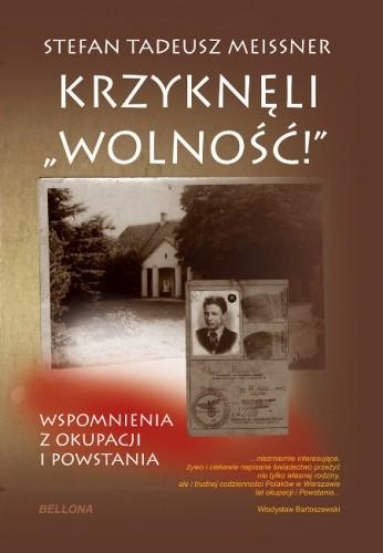 """Okładka książki Krzyknęli """"Wolność!"""""""