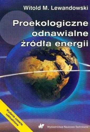 Okładka książki Proekologiczne odnawialne źródła energii