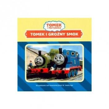 Okładka książki Tomek i groźny smok